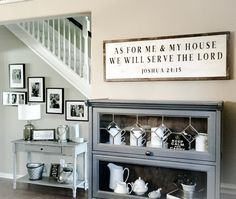 As For Me And My House We Will Serve The Lord Sign Joshua 24 15 Verse Wall Decor Wooden 1 New