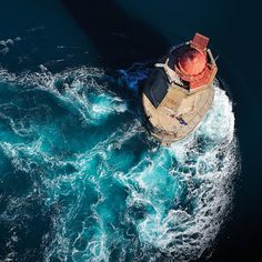 Le Phare de la  Lighthouse , south-west of Ushant Island.(by Brestitude)