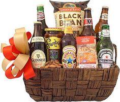 International Beer Traveler Gift Basket  Visit store to see price
