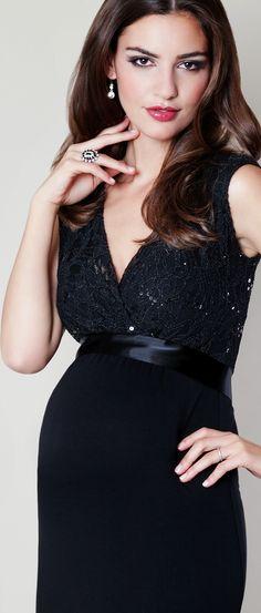 Glamourös & edel: Unser Juliette Kleid in schwarz