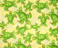 Turtle print fabric | turtle fabric