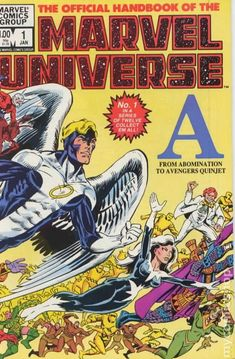 Official Handbook Marvel Universe #1