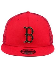 4633a7821 ... new era boston red sox color metal mesh back 9fifty cap red adjustable  metal mesh