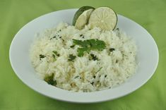 Cilantro Lime Rice.  Copycat recipe from Chipotle Mexican Restaurant.