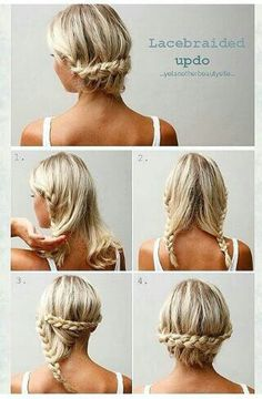 simple braid perfect updo...