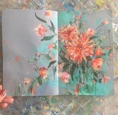 Flowers Art Drawing Sketchbooks Sketch Books 33 Id Art And Illustration, Art Floral, Painting Inspiration, Art Inspo, Gcse Art Sketchbook, Sketchbook Ideas, Fashion Sketchbook, Kunst Inspo, Abstract Flowers