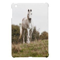Shop White horse iPod Case-Mate case created by hildurbjorg. Cute Ipad Cases, Ipad Mini Cases, Cool Cases, Ipod Touch Cases, Iphone 4 Cases, Ipad Accessories, Horse Gifts, Stationery Design, Horses