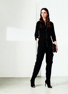 The do it all Karen Millen Jumpsuit will be your go-to item for all occasions.