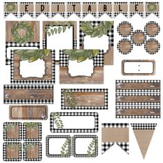 You will love this Buffalo Plaid Classroom Decor Bundle! Freshen up your classroom with these calming neutral colors and magnolia accents! Classroom Setting, Classroom Setup, Future Classroom, Classroom Organization, First Year Teachers, Kindergarten Teachers, Alphabet Pictures, Shape Posters, Color Meanings