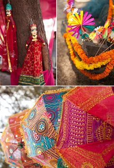 If you too want to stand out among the crowd and add a dash of spice to your wedding affair, try a funky village theme. A rural makeover will not only go a long way to make your event personalised and fun, but will also leave your guests thrilled and