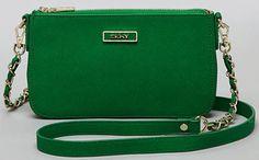 Green DNKY Bag