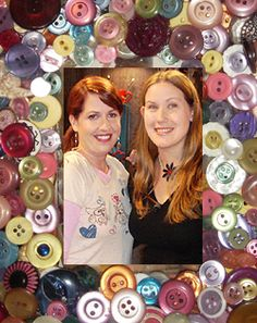 Marco con botones Mother Dearest, Diy Buttons, Button Crafts, Fascinator, Projects To Try, Frames, Crafty, Activities, Mom