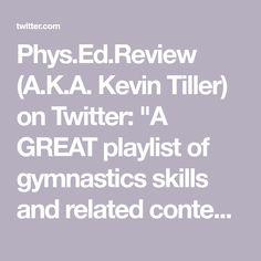 Gymnastics Skills, Content, Twitter