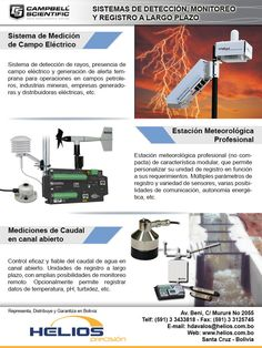 """HELIOS S.R.L. - Sistemas de detección. monitoreo y registro a largo plazo - CAMPBELL SCIENTIFIC"""""""