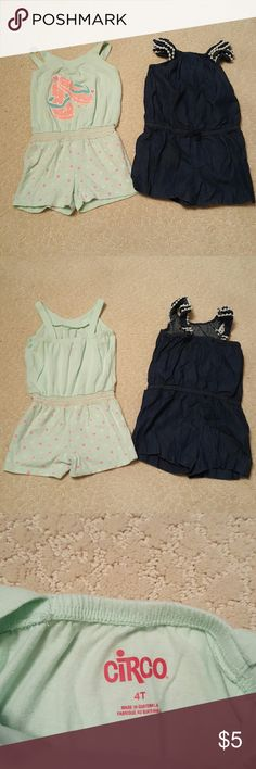 Girls jumper bundle Two shorts jumpers. Both have been worn but in good condition. I Matching Sets