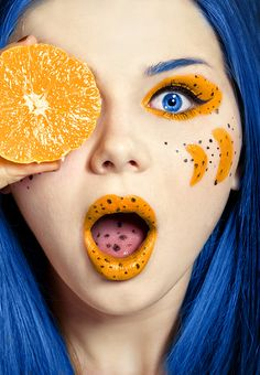 Orange Juice Benefits for Your Skin and Body! Orange Juice Benefits for Your Skin and Body! Blue Orange, Orange Color, Orange Crush, Yellow, Orange Juice Benefits, Figure Photography, Complimentary Colors, Portraits, Color Theory