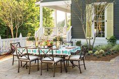 50th Anniversary Idea House: Ballard Dining Terrace Designed by Margaret Kirkland