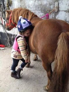 When it's time to nap, it's time to nap :) Reminds me of my niece Jess and her pony Bonnie