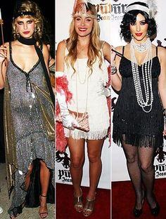 Flapper Costumes. Vestidos De Los 50 8b376aa6339