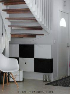 http://kolmentahdenkoti.casablogit.fi/ hallway, ikea