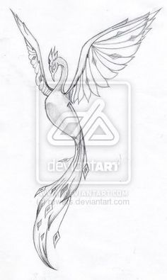 Image detail for -Small phoenix - tattoos : europe - phoenix, sun, fire, eternity ...