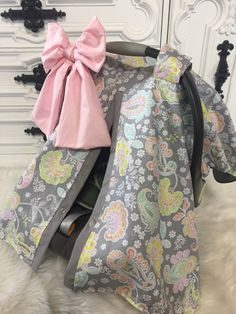 car seat cover / car seat cover / nursing cover / by CoveredNLove1