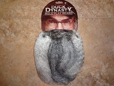 New Duck Dynasty Uncle SI or Willie Robertson Role Play Beard Costume Halloween | eBay