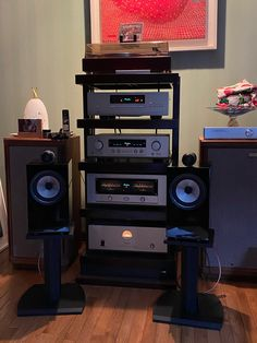 Listening to good music through a good audio system.  British  build good speakers:  Tannoy for orchestra and B&W for chamber music.