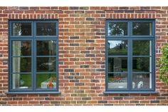 We supply and install uPVC windows to replace older uPVC windows, original timber windows and aluminium windows in home improvement projects, extensions and new build properties. Aluminum Windows Design, Aluminium Windows And Doors, Timber Windows, Modern Windows, Sash Windows, House Windows, Cottage Windows, Barn Conversion Interiors, Windows