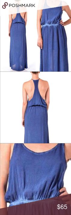 Betro Simone Maxi Dress Nordstrom Blue Maxi Racerback Dress Boho People Betro Simone Nordstrom maxi dress featuring a sporty racerback bodice and floor-sweeping skirt. An elastic waistband provides figure-flattering definition. Slits on each side • Machine Wash Cold • 100% Rayon betro simone Dresses Maxi