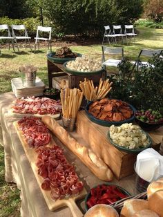 Grazing Station Food station Grazing table - My WordPress Website Add a grazing food station to wow your guests. Appetizer table- Sandwiches, roll ups, Wings, veggies, frui Food stations are the way to go for a laid back casual dinner Chef and I Catering Appetizers Table, Wedding Appetizers, Wedding Appetizer Table, Appetizer Table Display, Appetizer Dinner, Grazing Food, Grazing Tables, Snacks Für Party, Parties Food