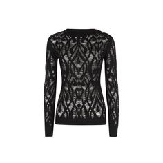Balmain Destroyed Cotton Sweater ($670) ❤ liked on Polyvore featuring tops, sweaters, destroyed sweater, balmain, balmain sweater, woven top and distressed top