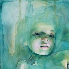 Incredible watercolor painting by artist Ali Cavanaugh  @_alicavanaugh_