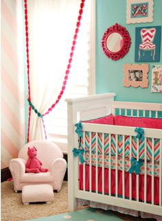 baby room :D love the colors