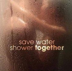Sexy shower together