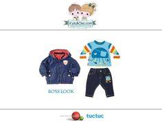 #Trendy #look for #boys from #Boboli and #TucTuc. Discover at: www.kidsandchic.com/boy   #boysclothing #boysfashion #kidsfashion #trendychildren #kidsclothing #toddlerclothes #shoponline #shoppingbarcelona #hoodedjacket #jacket #tshirt  #boystshirt #jeans #boysjeans #denim  #backtoschool #vueltaalcole