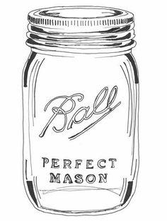 Mason Jar Crafts – How To Chalk Paint Your Mason Jars - Enterson Colored Mason Jars, Ball Mason Jars, Ideas Día Del Padre, Mason Jar Tattoo, Homemade Liquor, Diy Hanging Shelves, Mason Jar Crafts, How To Make Paper, Coloring Pages