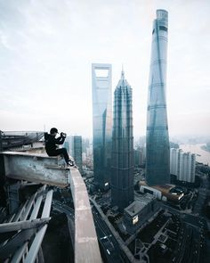 Breathtaking Rooftop Shots From Skyscrapers Of Shanghai by Anselm Wiethoff #inspiration #photography