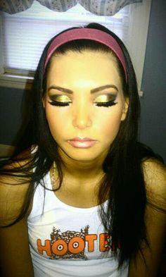 Gold Makeup  Dramatic makeup  Makeup by Kayte Parrott