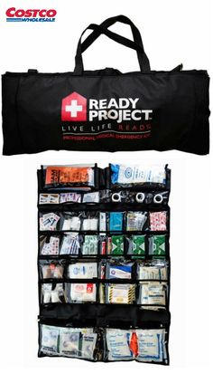 Ready Project™ has made a fundamental medical kit to help you and your family be prepared for the unexpected. During a disaster it may take some time for relief to arrive. You may be able to stay in your home or you may be required to evacuate, either way it is important to have some supplies on hand in case of an injury. Only the medications and liquids need to be replaced every 1 and ½ years.