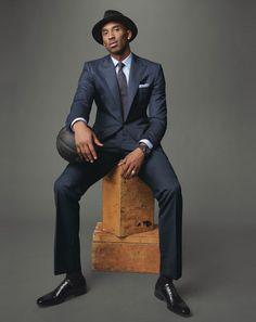 Kobe rocking a suit.