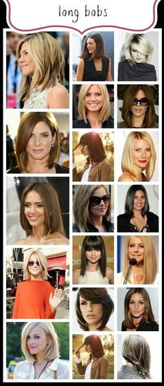 Celebrating THE BOB Hairstyle: The Long Bob (LOB) www.abeautifullittlelife.com