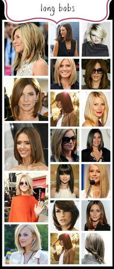 Celebrating THE BOB Hairstyle: The Long Bob (LOB) www.abeautifullittlelife.com