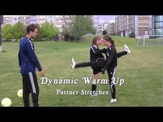 Warm Up For Soccer - (Good Dynamic) YouTube