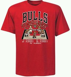Chicago Bulls 8-Bit Retro T-shirt Official NBA Gear BNWT, Size: L only