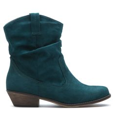 {the Agreeable boot in Hunter Green} love this boot in this colour (kind of a teal green)