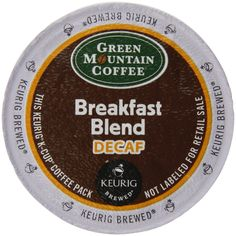 Keurig, Green Mountain Coffee, Breakfast Blend Decaf, K-cup Counts, 50 Count -- Insider's special review you can't miss. Read more  - Fresh Groceries