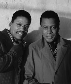 Herbie Hancock and Wayne Shorter #jazz #Music #photo If you like more great Fun Music go to: http://on.fb.me/1ey0xzx
