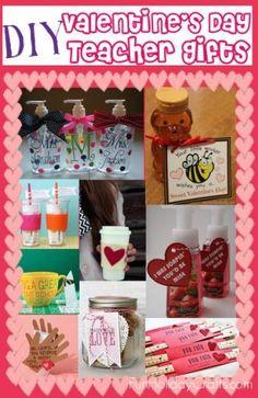 DIY Valentine's Day Teacher Gifts