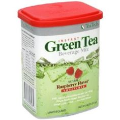 I'm learning all about Teatech Jackie Chan's Instagreen All Natural Green Tea Beverage Mix Natural Raspberry Flavor at @Influenster!